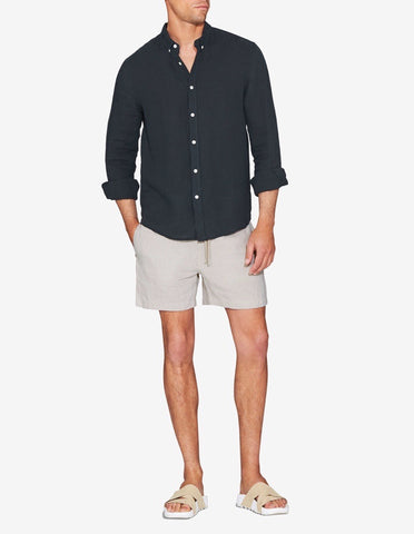 LOUNGE SHORT - SAND MARL
