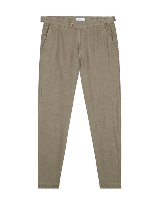 Side Tab Trouser - Sage