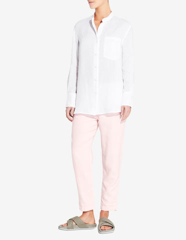 WOMENS LINED LOUNGE CHINO - LIGHT PINK