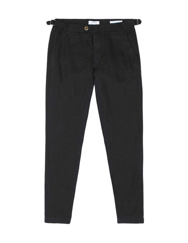Side Tab Trouser - Black