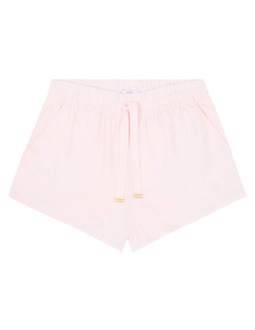 WOMENS LOUNGE SHORT - LIGHT PINK
