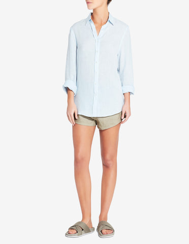 WOMENS SLIM SHIRT - LIGHT BLUE