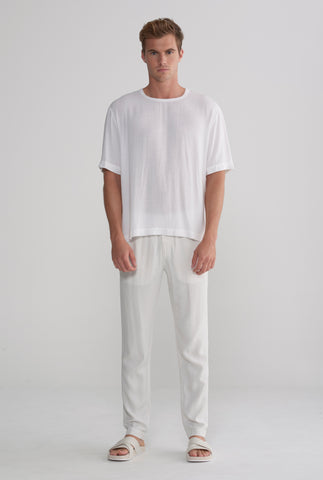 Tencel T-Shirt - White