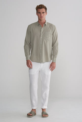 Cotton Shirt - Sage