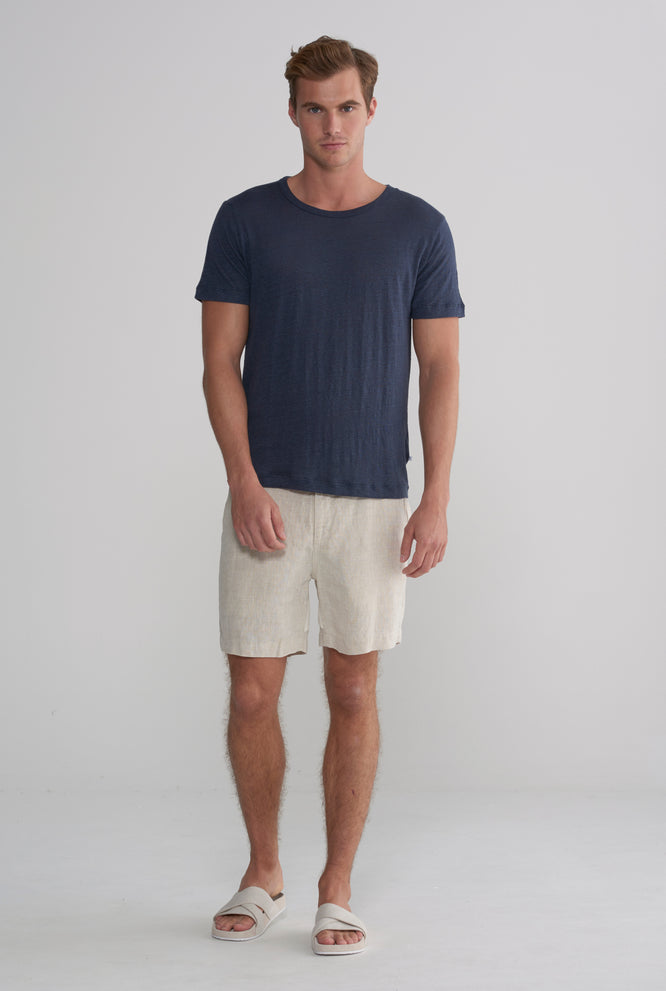 Superfine Linen T-Shirt - White