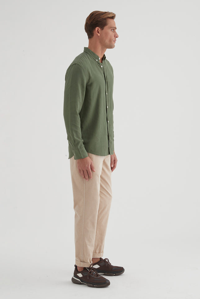 Winter Shirt - Dark Green