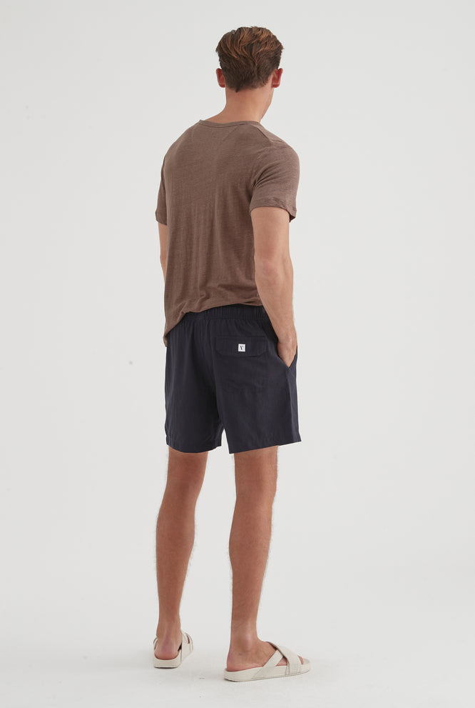 Original Tencel Lounge Short - Navy