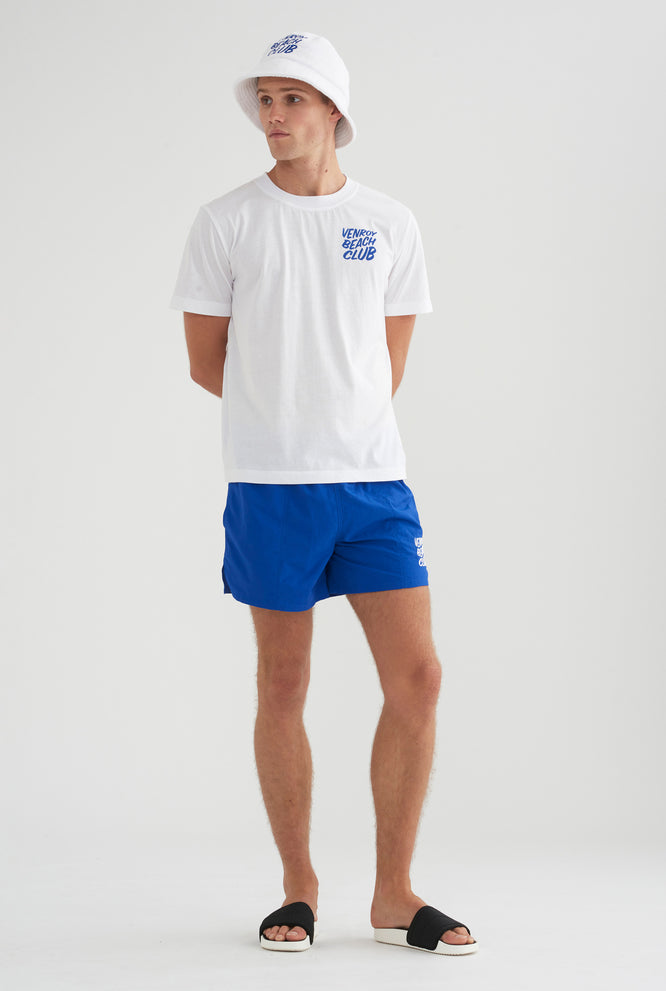 Beach Club Swim Short - Cobalt Blue