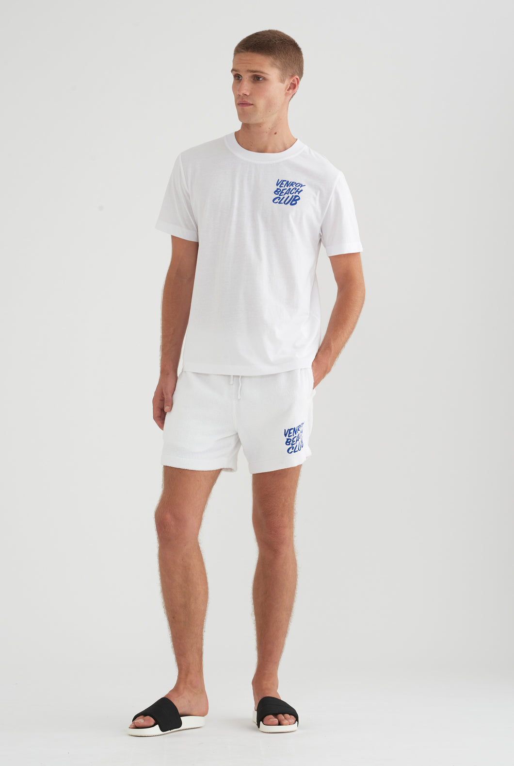 Beach Club Terry Short - White