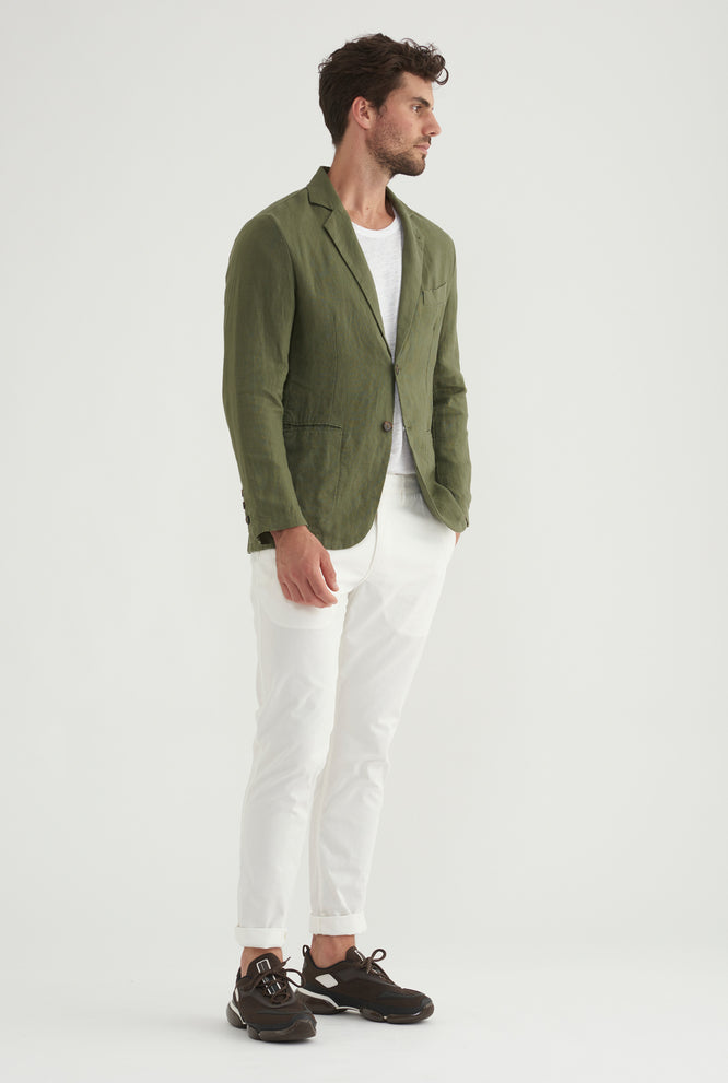 Unlined Blazer - Sand