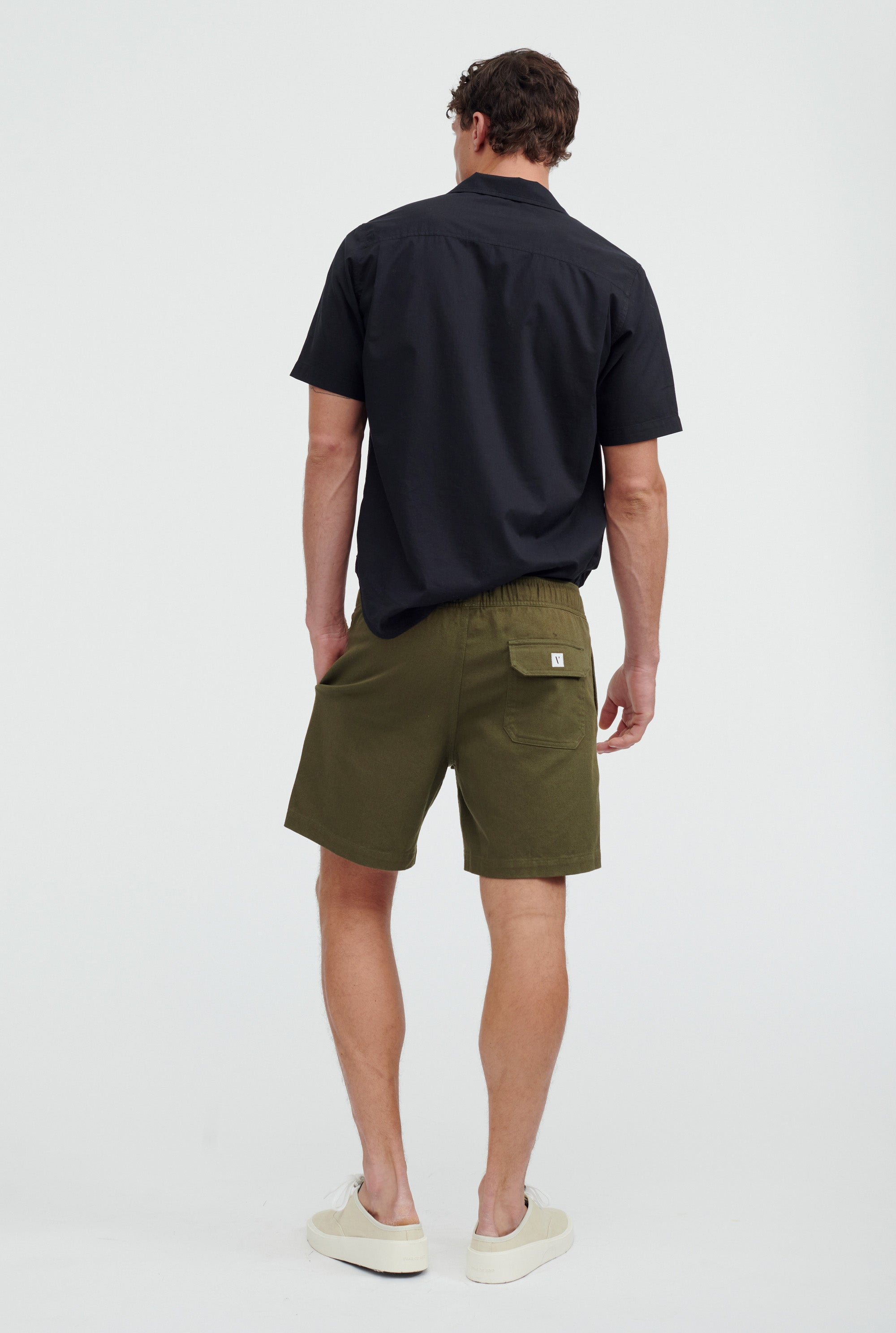 Cotton Drill Short - Signature Green