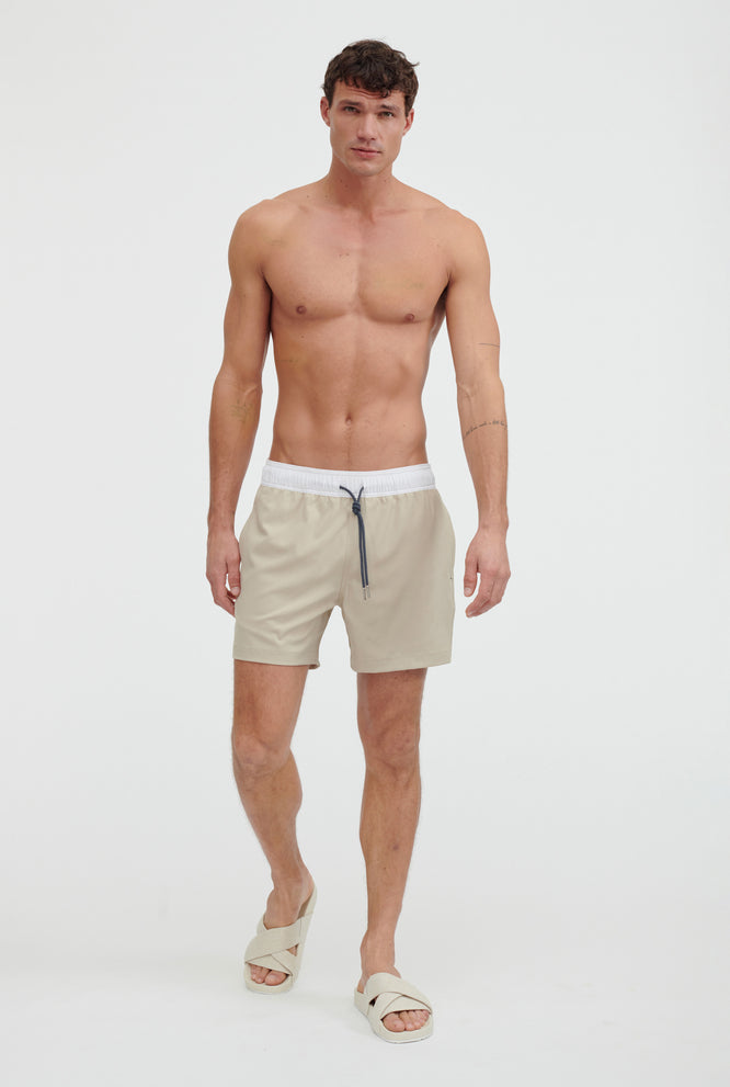 Stretch Swim Short - Navy