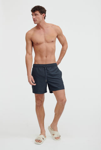 Solid Swim Short - Navy