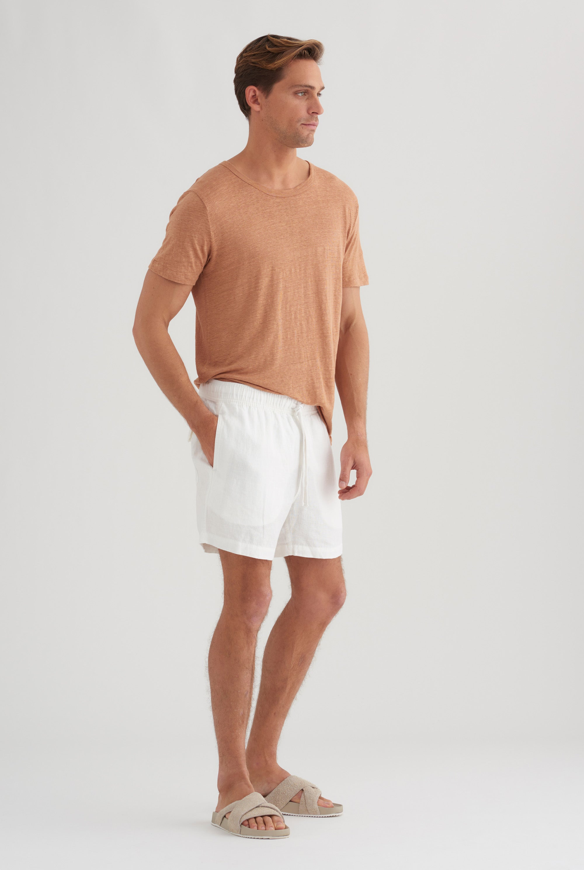 Lounge Short - White