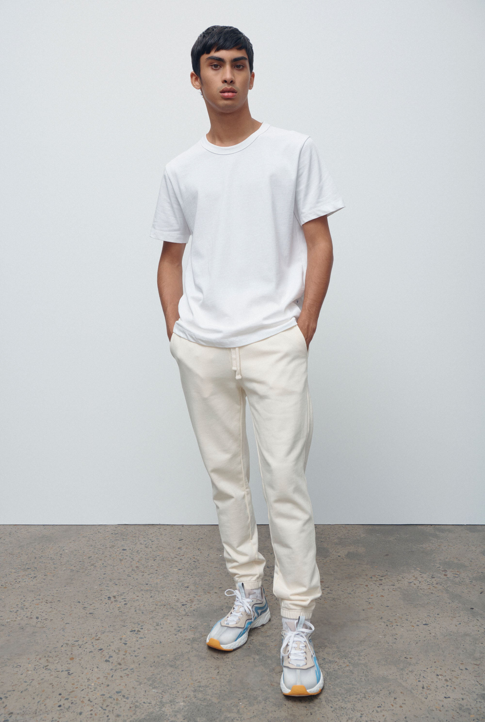 Track Pant - Off White