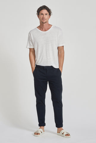 Square Tab Summer Chino - Navy