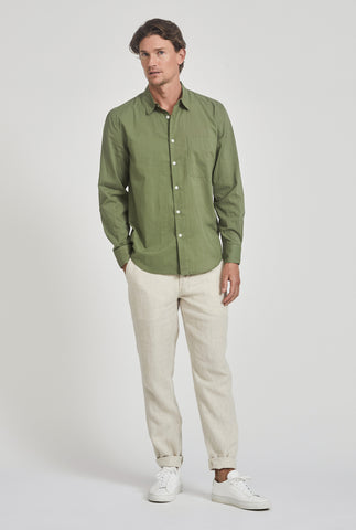 Cotton Voile Shirt - Signature Green
