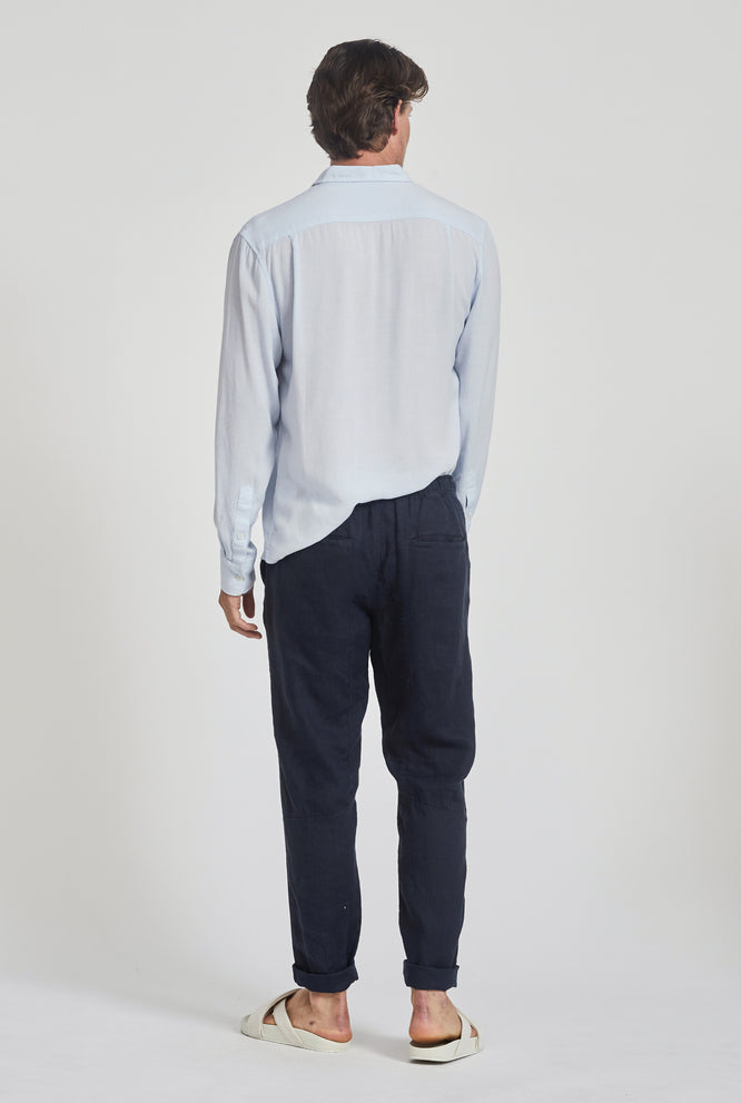 Tailored Lounge Pant - Navy
