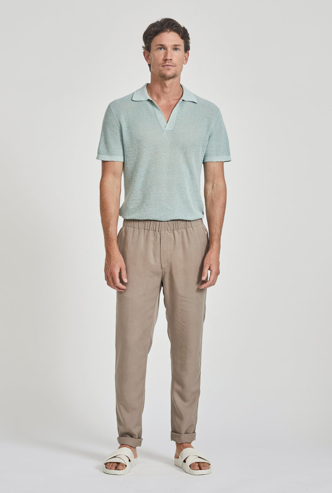 Tencel Lounge Chino - Putty