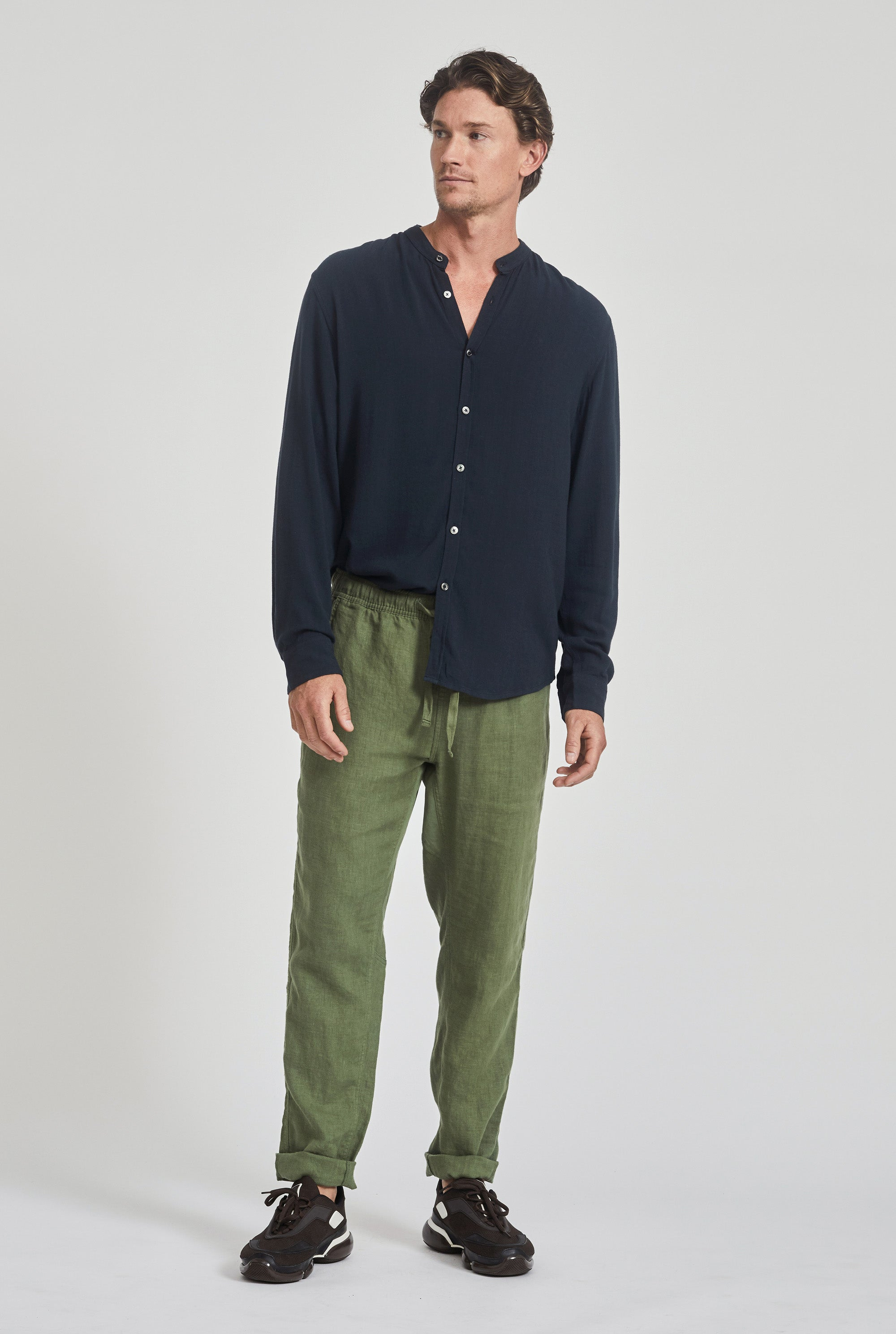 Tailored Lounge Pant - Signature Green