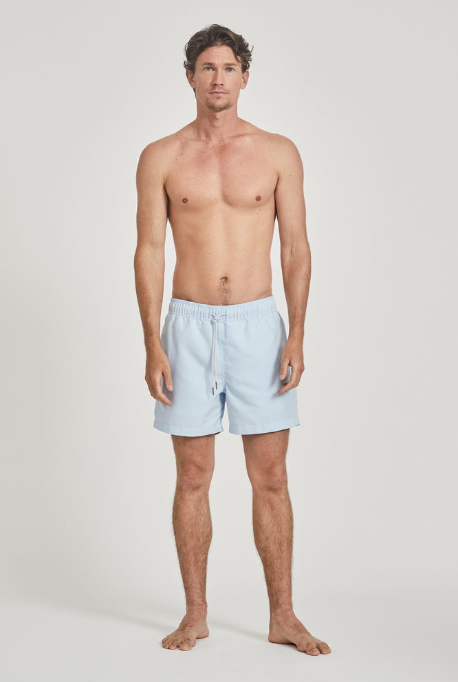 Solid Swim Short - Ocean Blue