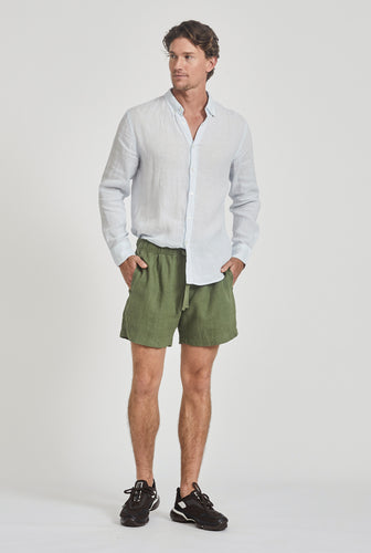 Lounge Short - Signature Green