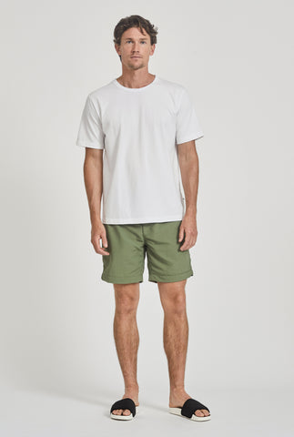 Nylon Short - Signature Green