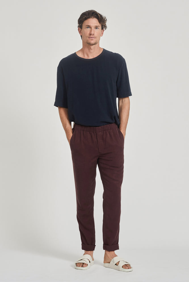 Tencel Lounge Chino - Navy