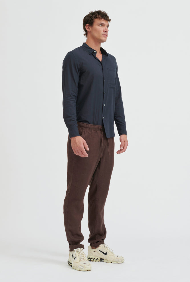 Tailored Lounge Pant - Cacao