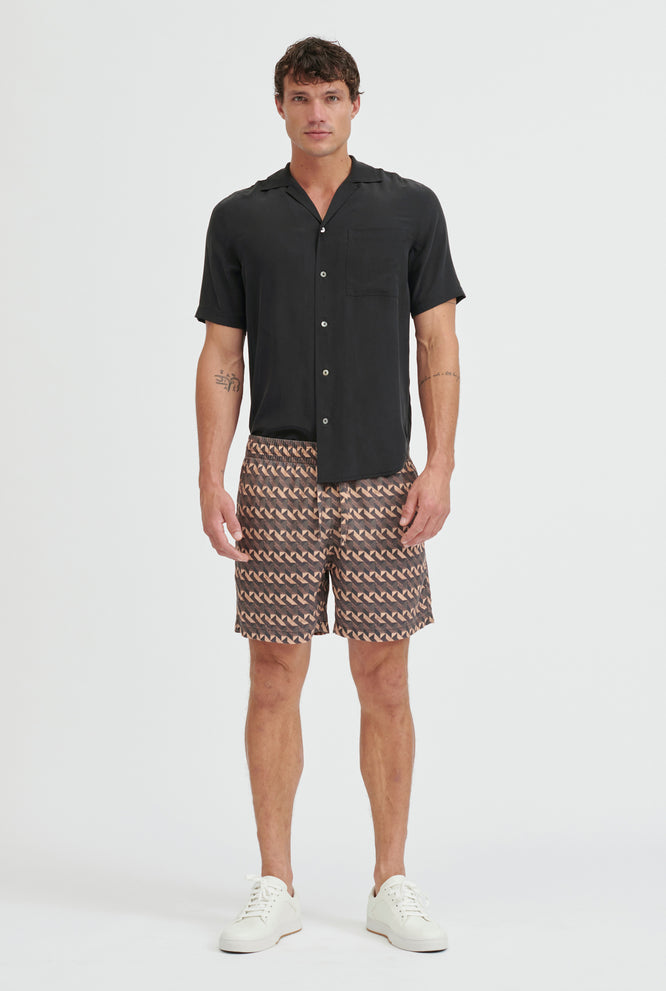Tencel Lounge Short - Cherub Print