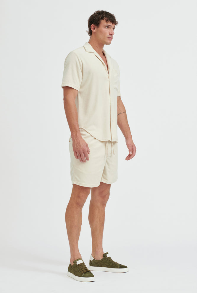 Terry Towel Short - Oat