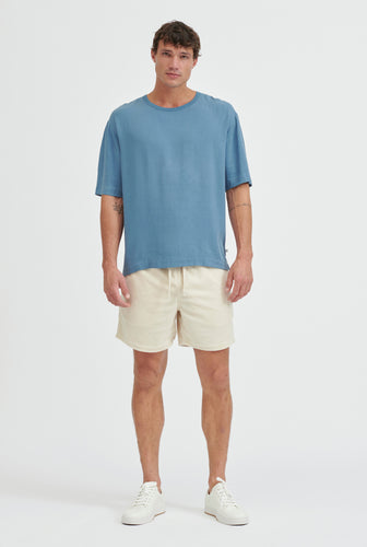 Tencel T-Shirt - Ocean Blue