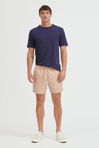 Lounge Short - Dusty Peach