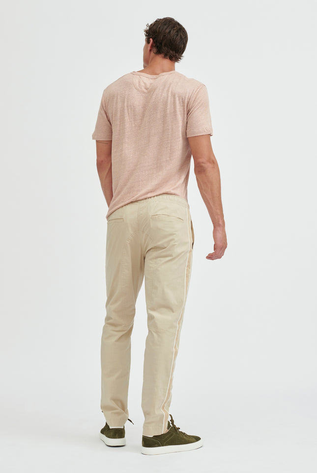 Linen T-Shirt - Dusty Peach