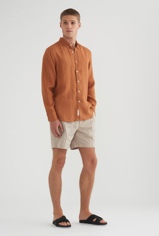 Linen Shirt - Copper