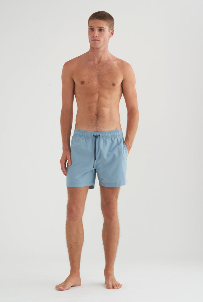 Swim Short - Dusty Blue