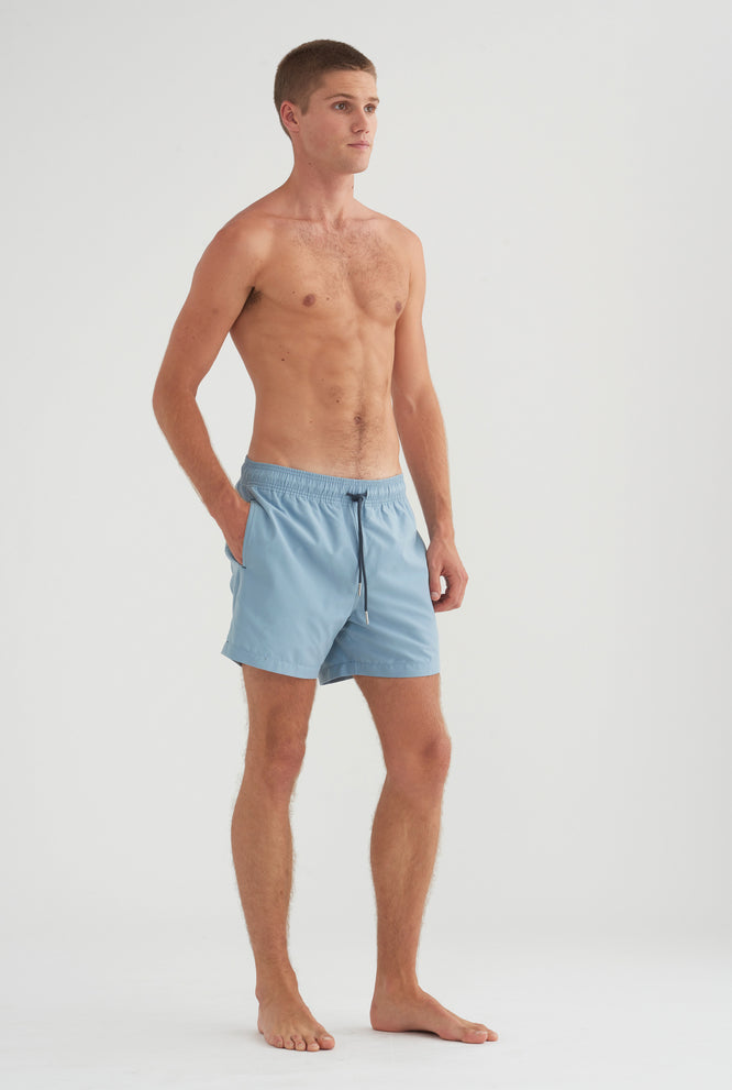 Swim Short - Mint Full Solid