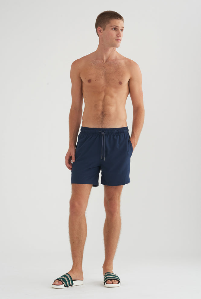Stretch Swim Short - Black