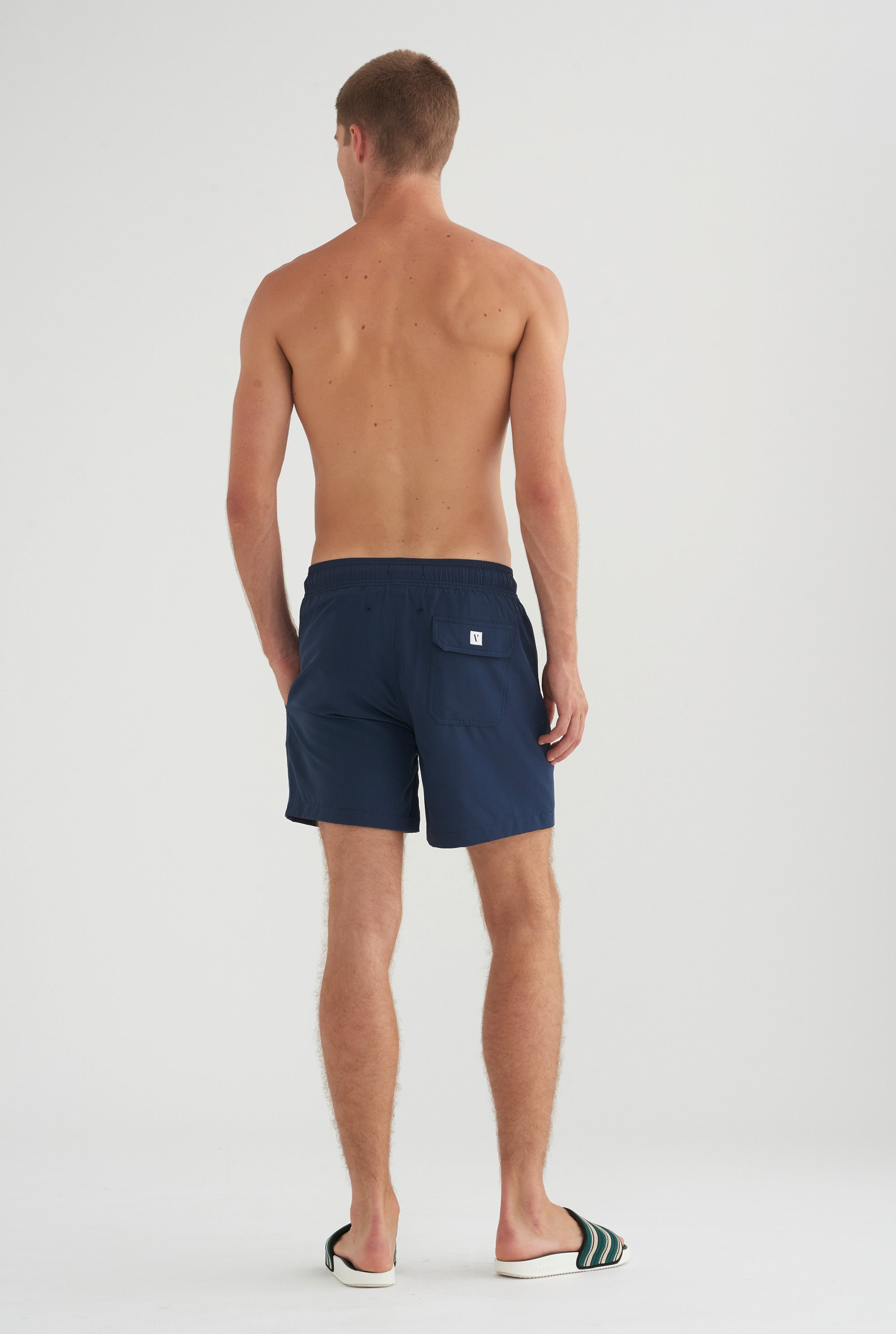 Swim Short - Navy Stretch