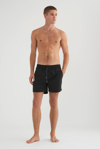 Nylon Swim Short - Black
