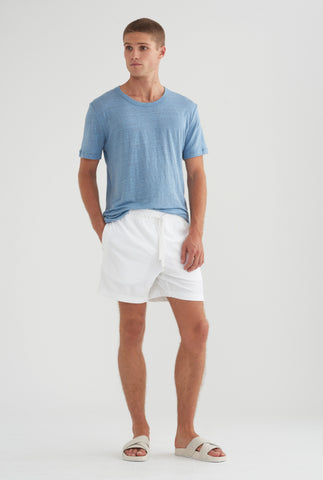 Terry Towel Short - White