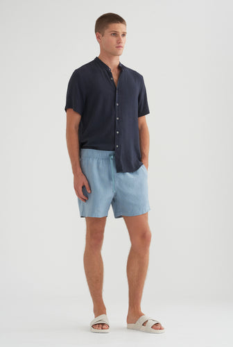 Lounge Short - Dusty Blue