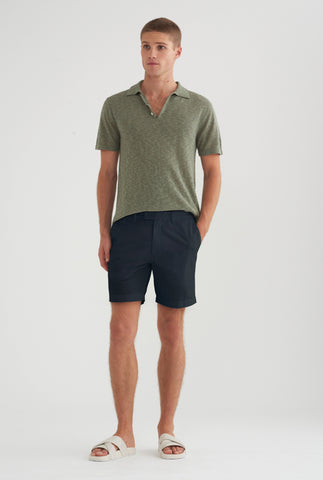 Original Square Tab Chino Short - Navy