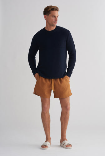 Lounge Short - Tobacco