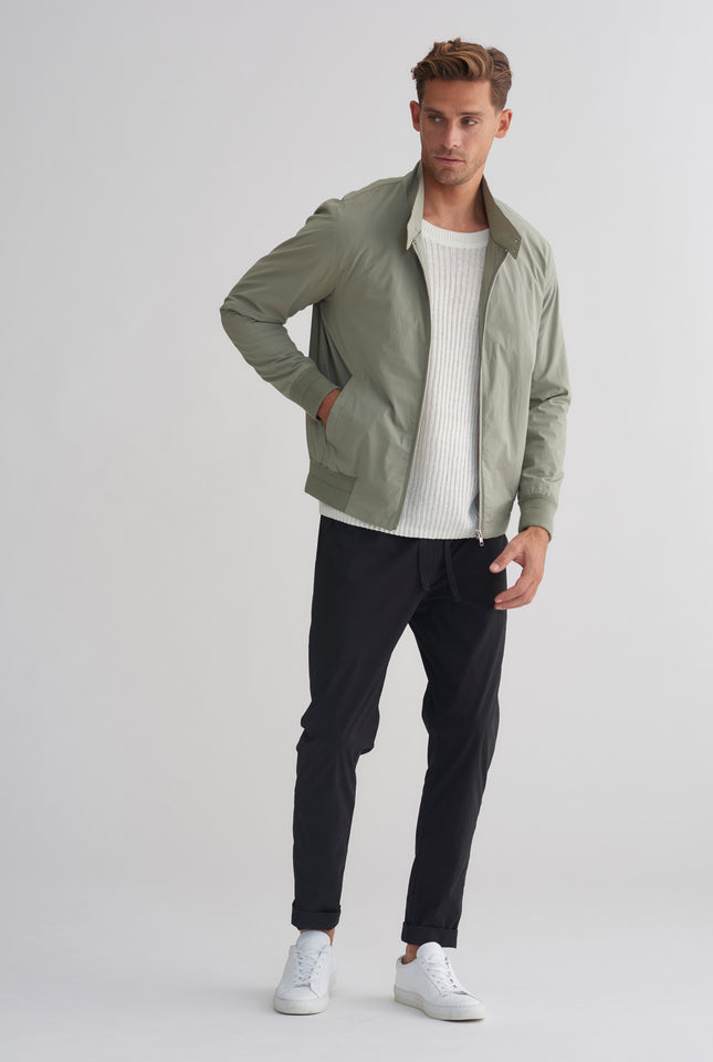 Cotton Stretch Sports Jacket - Sage