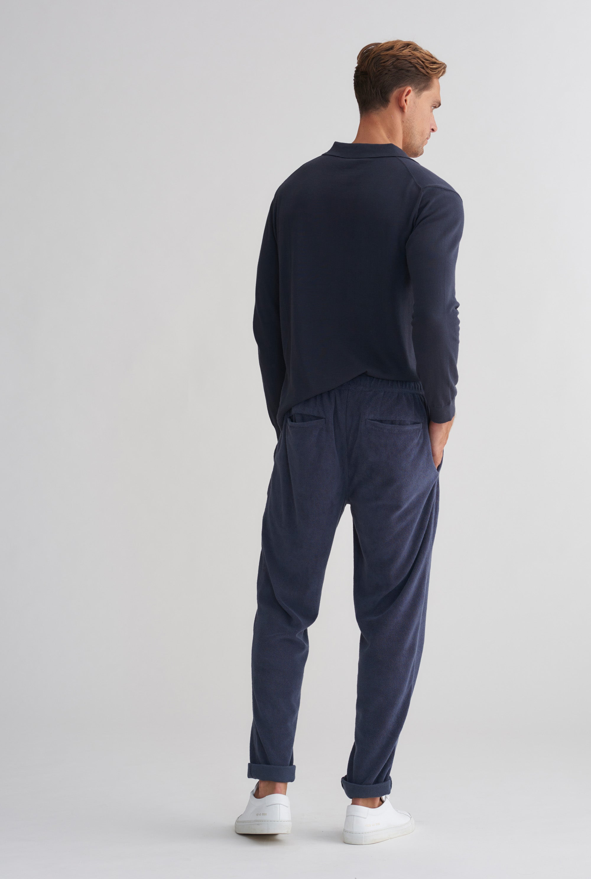 Terry Trouser - Navy