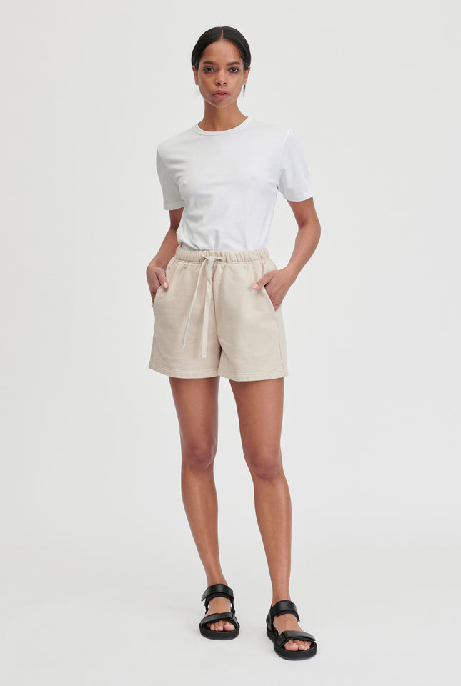 Womens Track Short - Oat