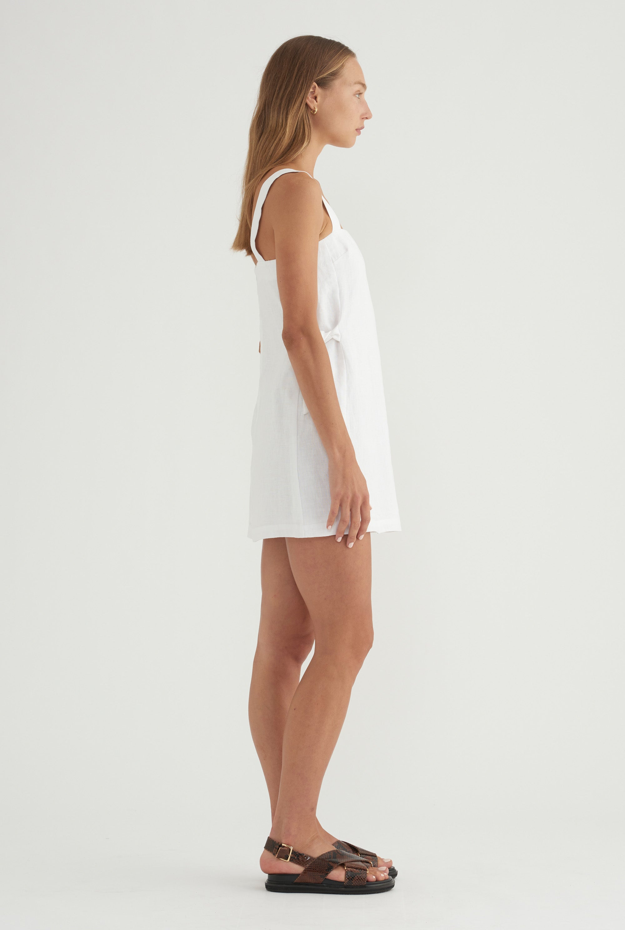 Side Knot Mini - White