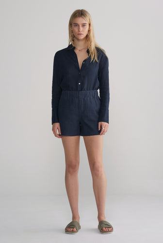 Womens Boxer Short - Navy