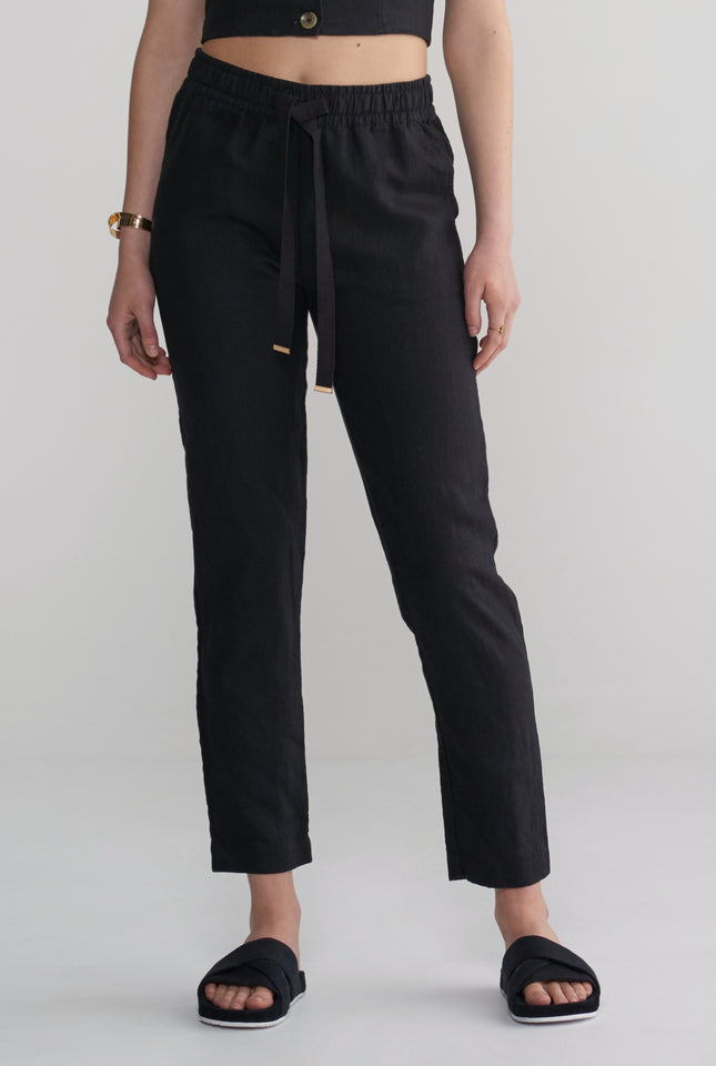 Womens Lounge Pant - Black